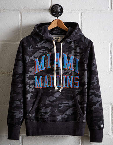 Tailgate Men's Miami Marlins Camo Hoodie - Free Returns