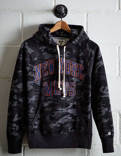 Tailgate Men's New York Mets Camo Hoodie - Free Returns
