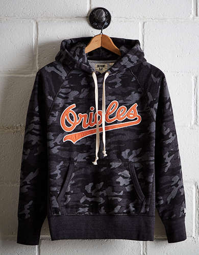Tailgate Men's Baltimore Orioles Camo Hoodie - Free Returns