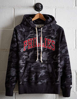 Tailgate Men's Philadelphia Phillies Camo Hoodie