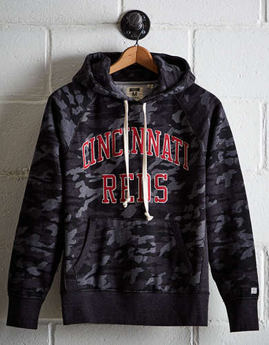 Tailgate Men's Cincinnati Camo Hoodie - Free Returns