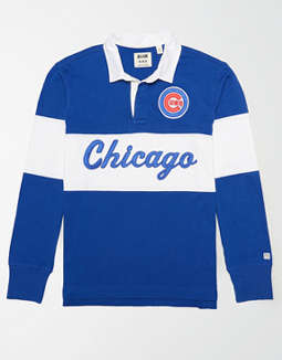 Tailgate Men's Chicago Cubs Rugby Shirt