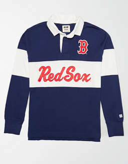 Tailgate Men's Boston Red Sox Rugby Shirt