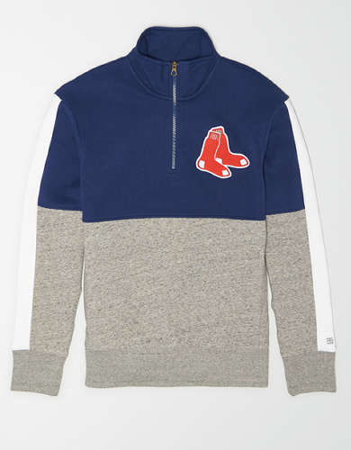 Tailgate Men's Boston Red Sox Quarter-Zip Sweatshirt