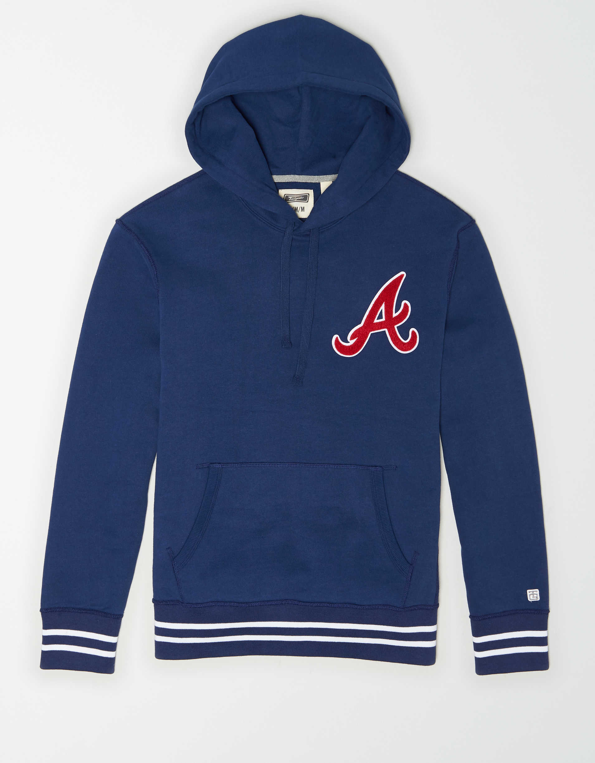Tailgate Men's Atlanta Braves Tipped Hoodie