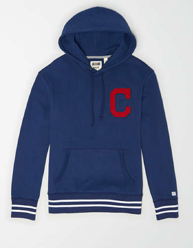 Tailgate Men's Cleveland Indians Tipped Hoodie