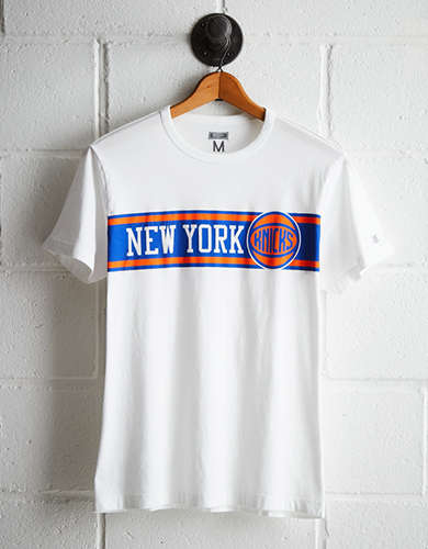 Tailgate Men's NY Knicks Stripe T-Shirt - Free Returns