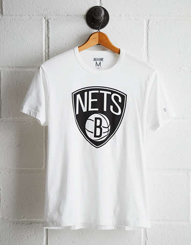 Tailgate Men's Brooklyn Nets Logo T-Shirt - Free Returns