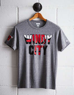 Tailgate Men's Chicago Windy City T-Shirt