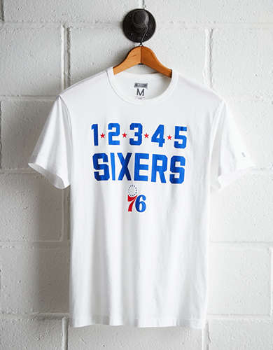 Tailgate Men's Philadelphia Sixers T-Shirt - Free Returns