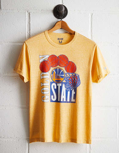 Tailgate Men's Golden State Retro T-Shirt - Free Returns