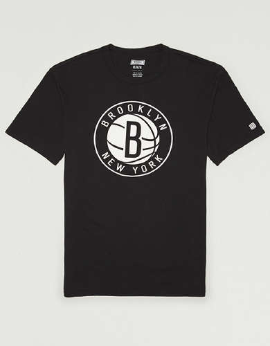 Tailgate Men's Brooklyn Nets Reflective Graphic T-Shirt
