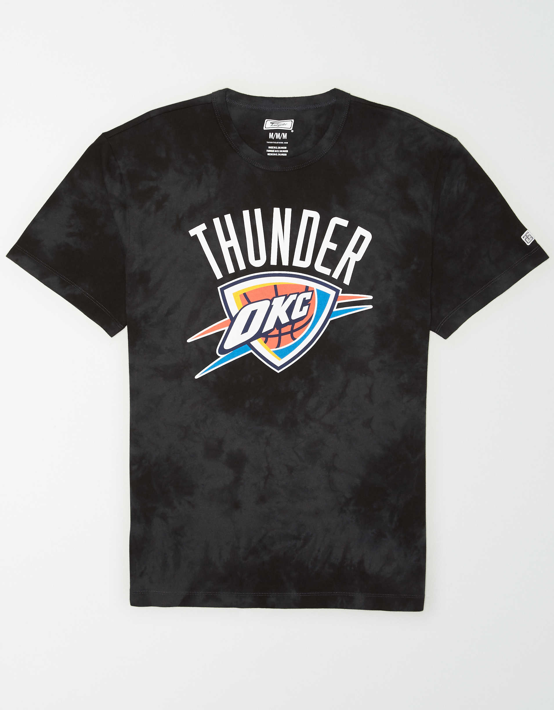 Tailgate Men's Oklahoma City Thunder Tonal Dye T-Shirt