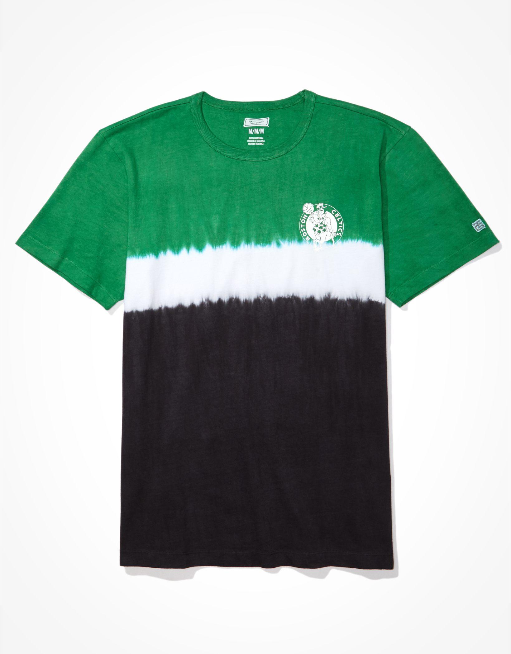 Tailgate Men's Boston Celtics Dip-Dye T-Shirt
