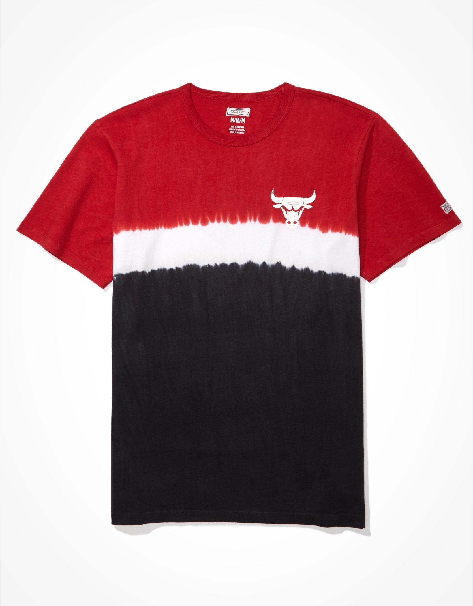 Tailgate Men's Chicago Bulls Dip-Dye T-Shirt