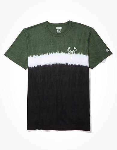 Tailgate Men's Milwaukee Bucks Dip-Dye T-Shirt