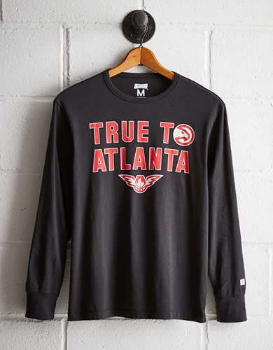 Tailgate Men's Atlanta Hawks Long Sleeve Tee - Free Returns