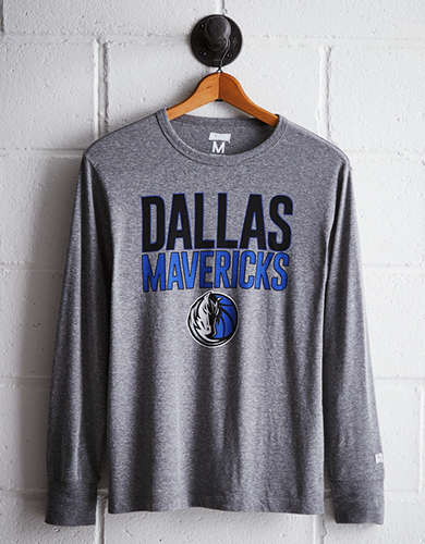 Tailgate Men's Dallas Mavericks Long Sleeve Tee - Free Returns