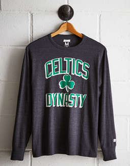 Tailgate Men's Boston Celtics Long Sleeve Tee