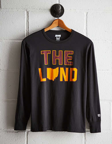 Tailgate Men's Cleveland Long Sleeve Tee - Free Returns