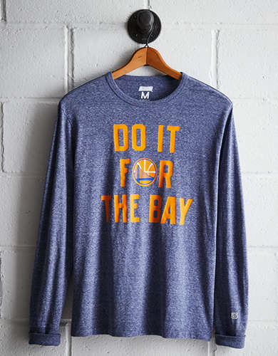 Tailgate Men's Golden State Long Sleeve Tee - Free Returns