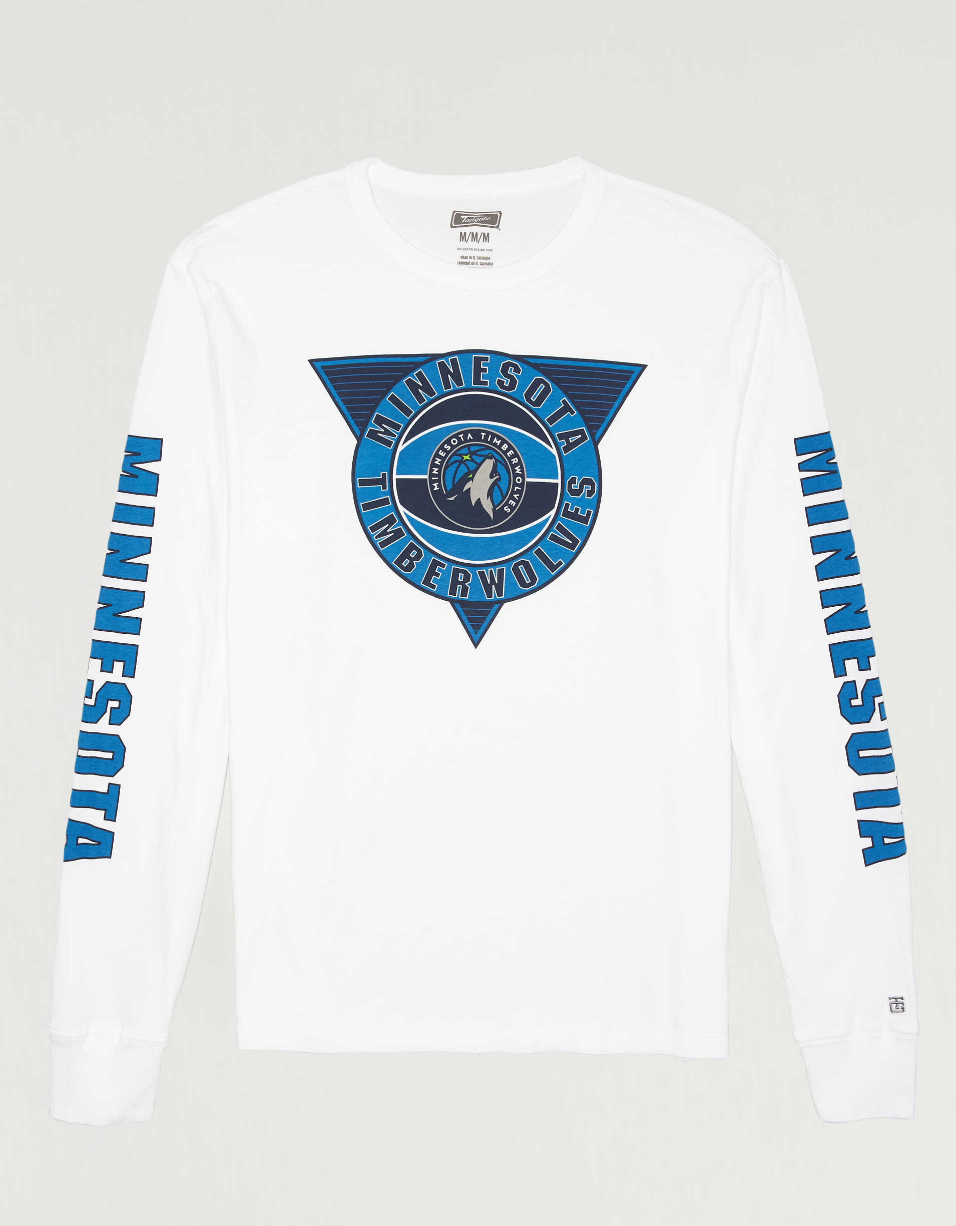 Tailgate Men's Minnesota Timberwolves Long Sleeve T-Shirt
