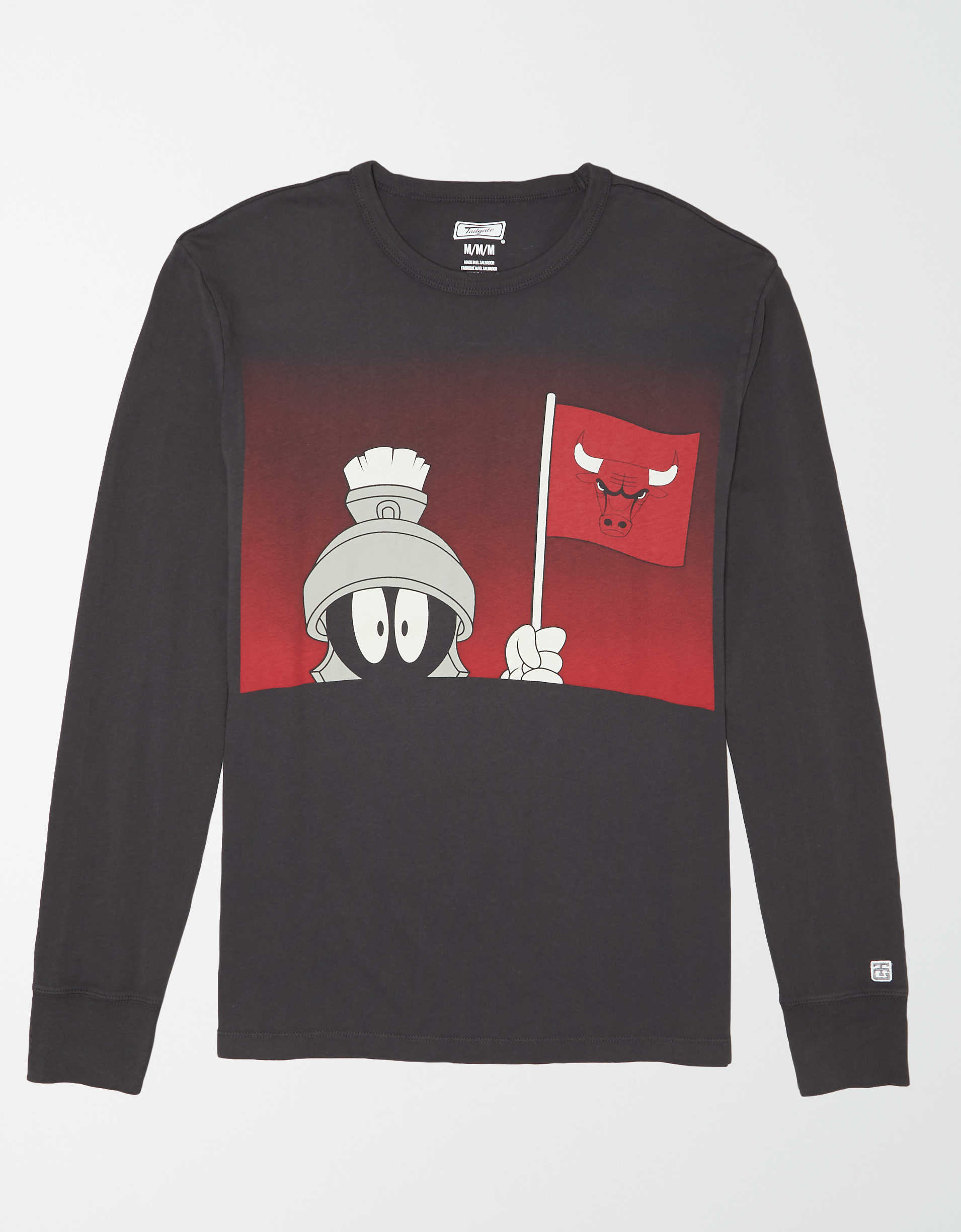 Tailgate Men's Chicago Bulls x Looney Tunes Long Sleeve T-Shirt