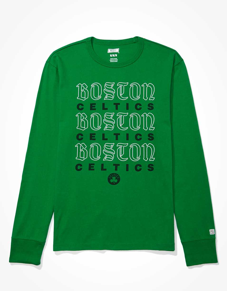 Tailgate Men's Boston Celtics Long Sleeve T-Shirt