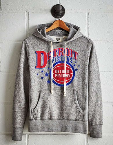 Tailgate Men's Detroit Pistons Fleece Hoodie - Free Returns