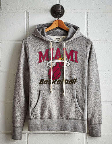 Tailgate Men's Miami Heat Fleece Hoodie - Free Returns