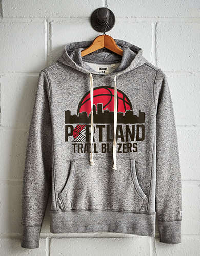 Tailgate Men's Trail Blazers Fleece Hoodie - Free Returns