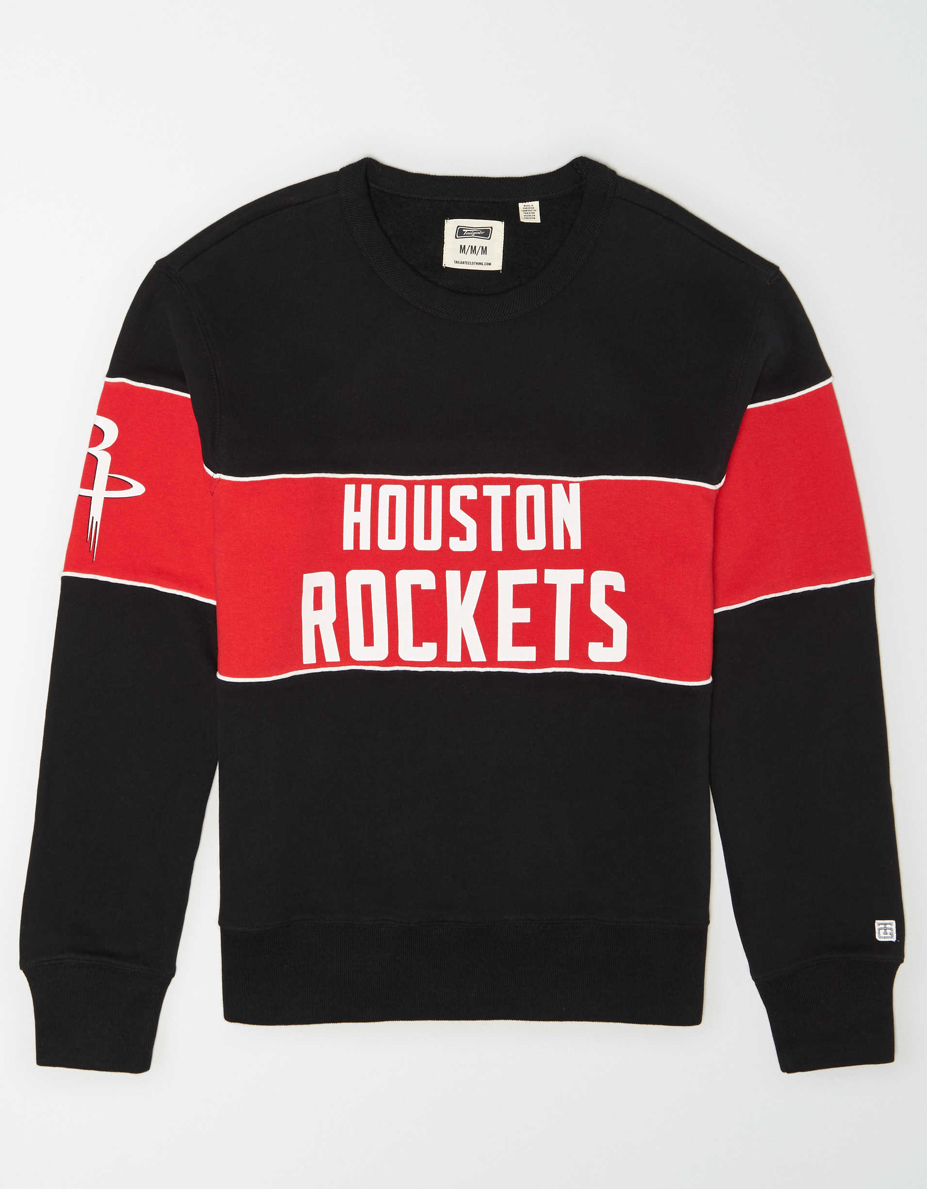 Tailgate Men's Houston Rockets Fleece Sweatshirt