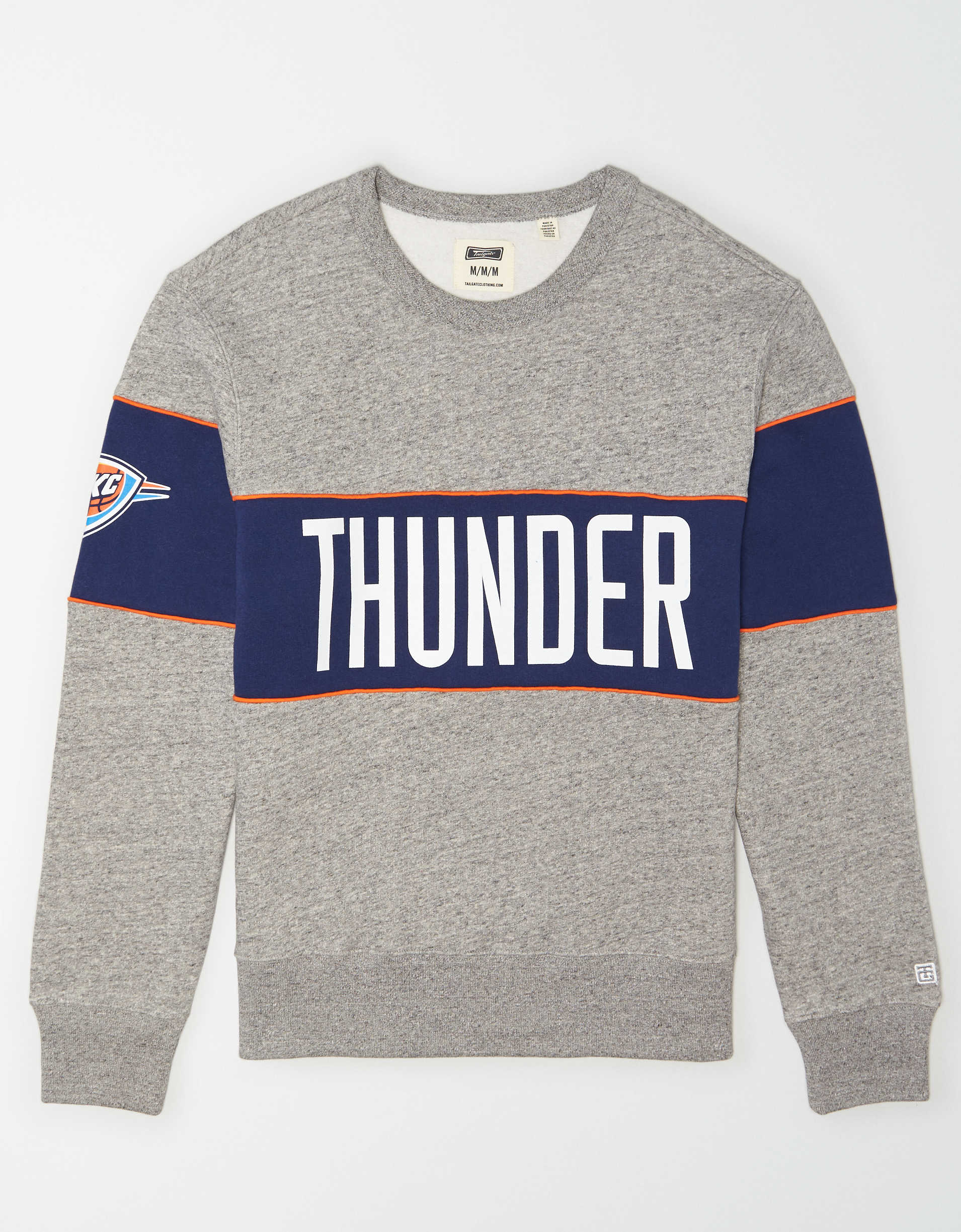 Tailgate Men's Oklahoma City Thunder Fleece Sweatshirt