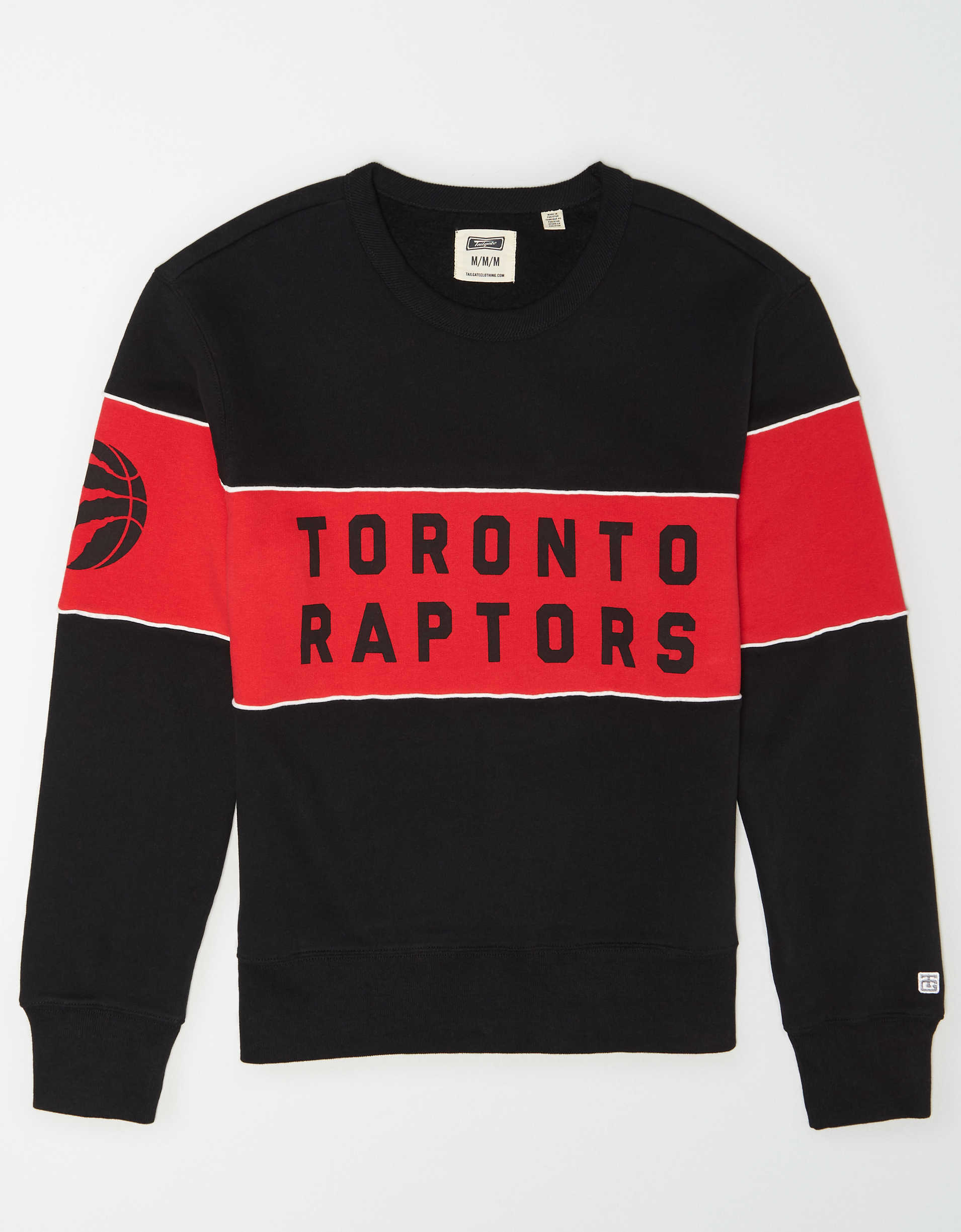 Tailgate Men's Toronto Raptors Fleece Sweatshirt