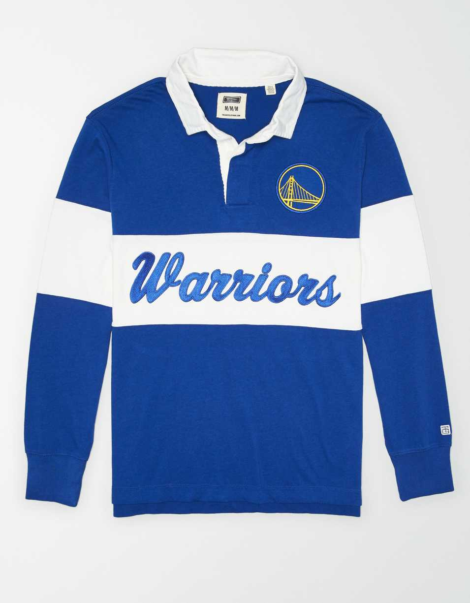 Tailgate Men's Golden State Warriors Rugby Shirt