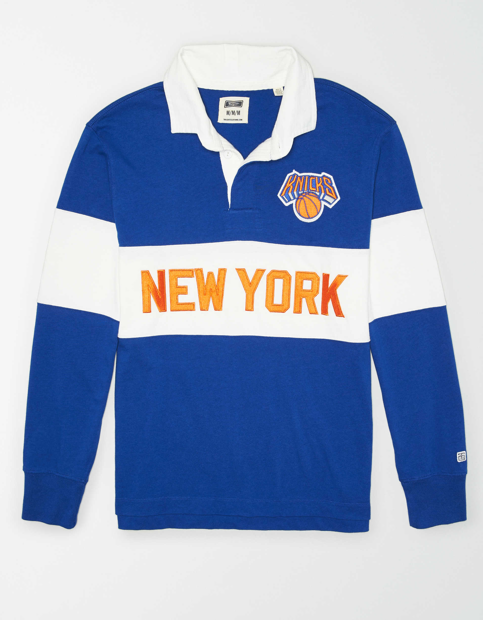 Tailgate Men's New York Knicks Rugby Shirt