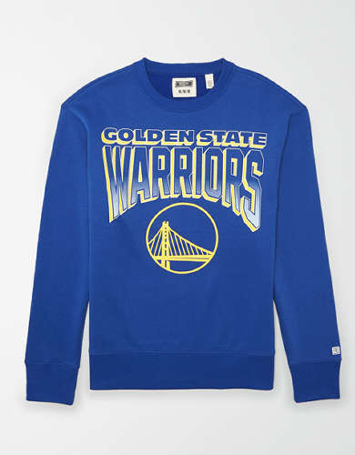Tailgate Men's Golden State Warriors Crew Neck Sweatshirt