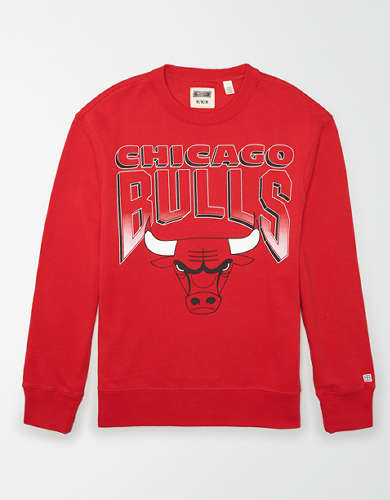 Tailgate Men's Chicago Bulls Crew Neck Sweatshirt