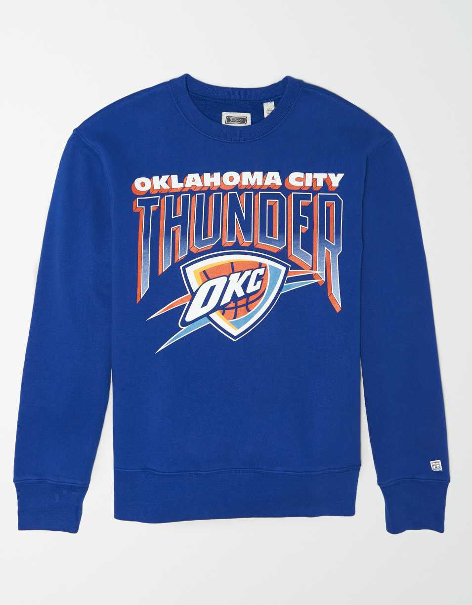 Tailgate Men's Oklahoma City Thunder Crew Neck Sweatshirt