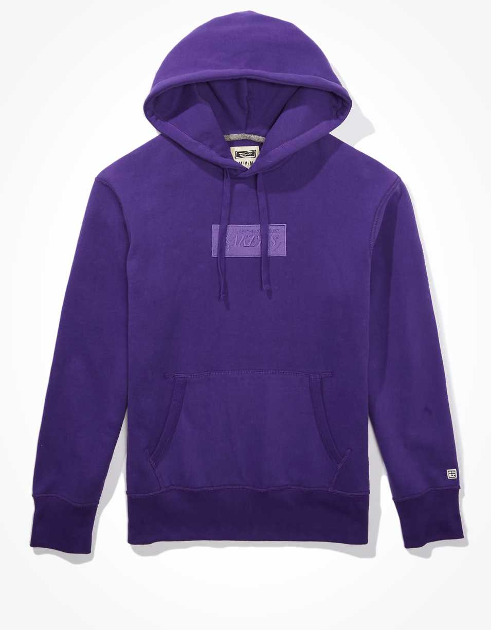Tailgate Men's LA Lakers Tonal Graphic Hoodie