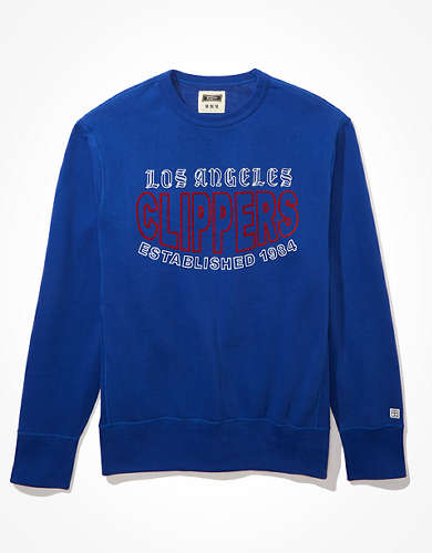 Tailgate Men's LA Clippers Crew Neck Fleece Sweatshirt