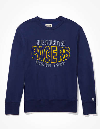 Tailgate Men's Indiana Pacers Crew Neck Fleece Sweatshirt
