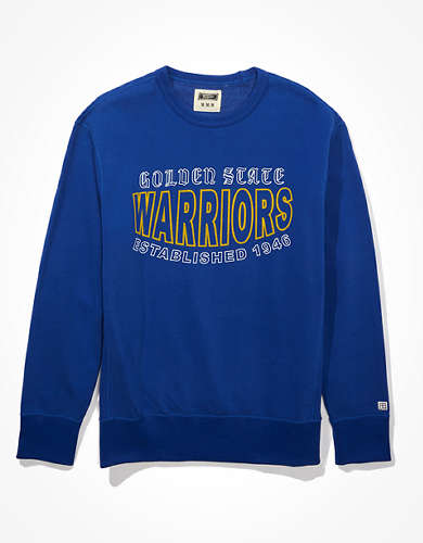Tailgate Men's Golden State Warriors Crew Neck Fleece Sweatshirt