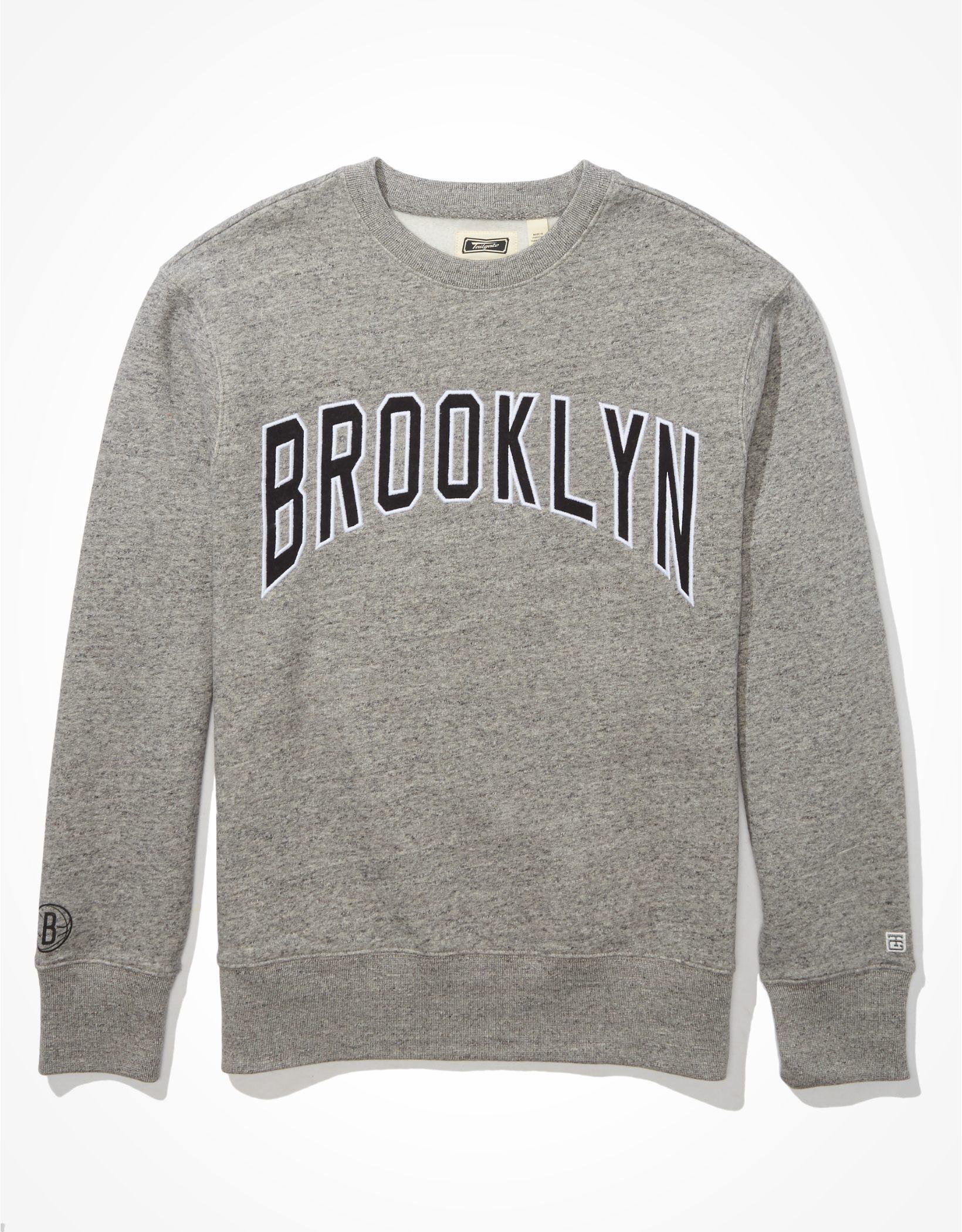Tailgate Men's Brooklyn Nets Fleece Sweatshirt