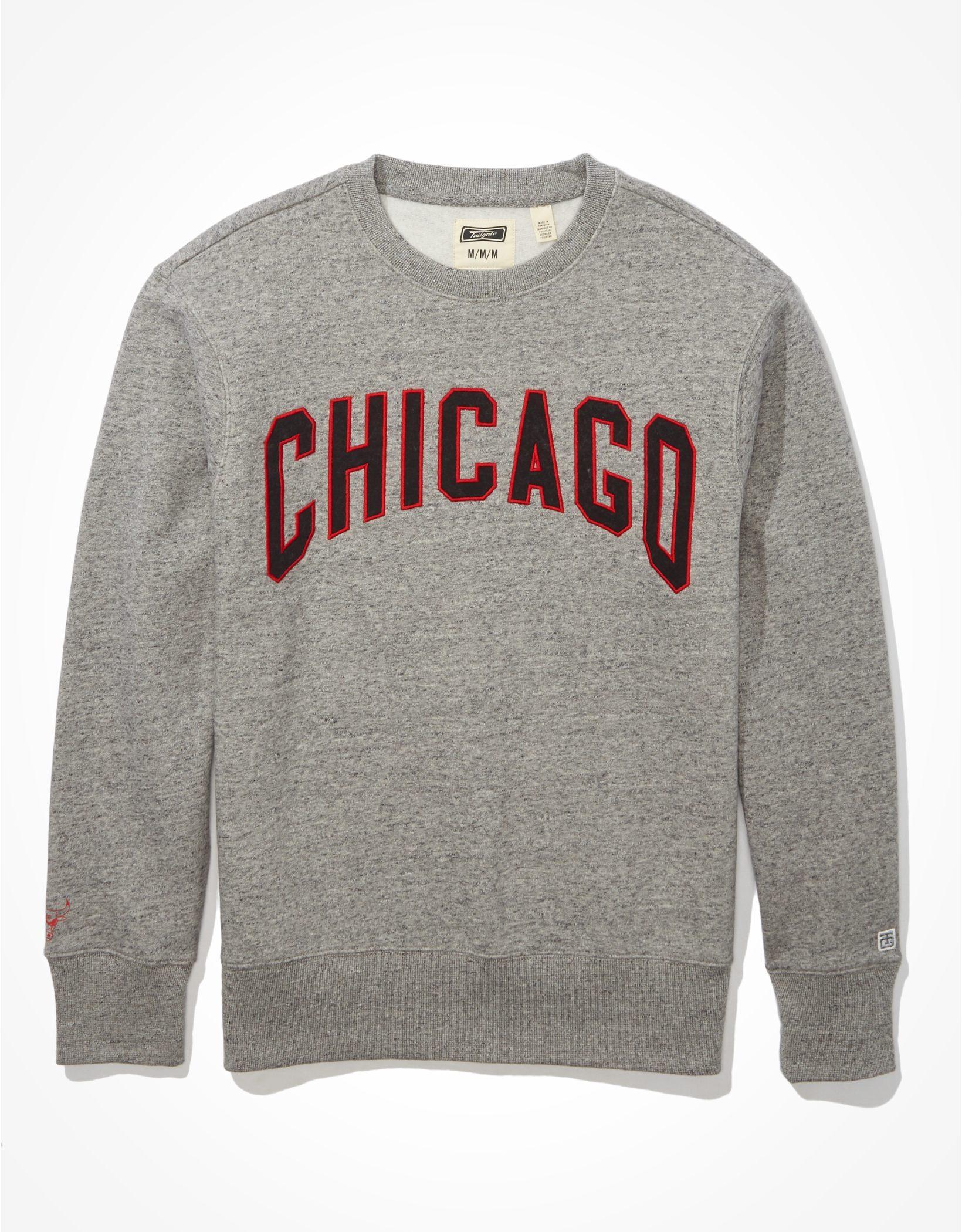 Tailgate Men's Chicago Bulls Fleece Sweatshirt