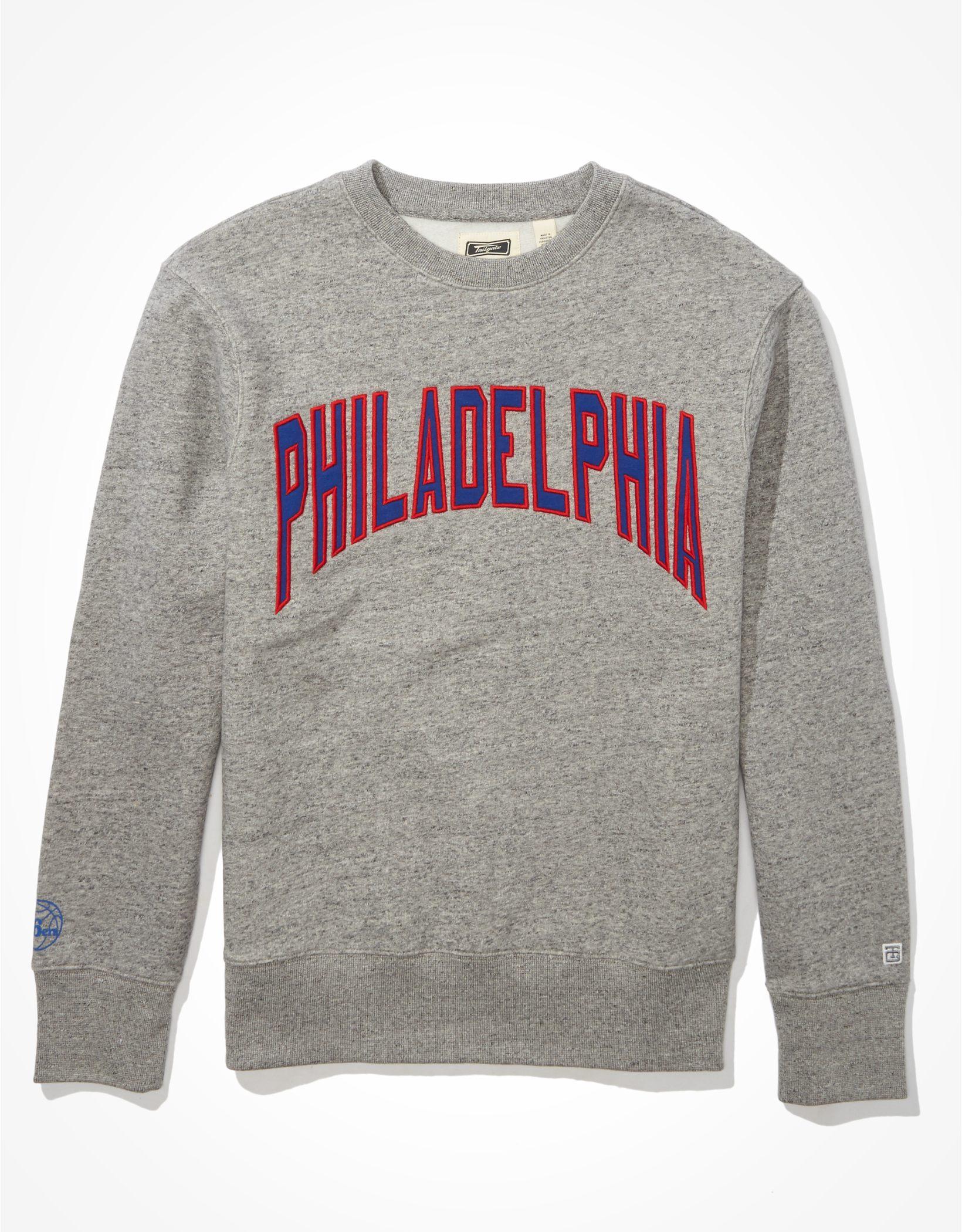 Tailgate Men's Philadelphia 76ers Fleece Sweatshirt