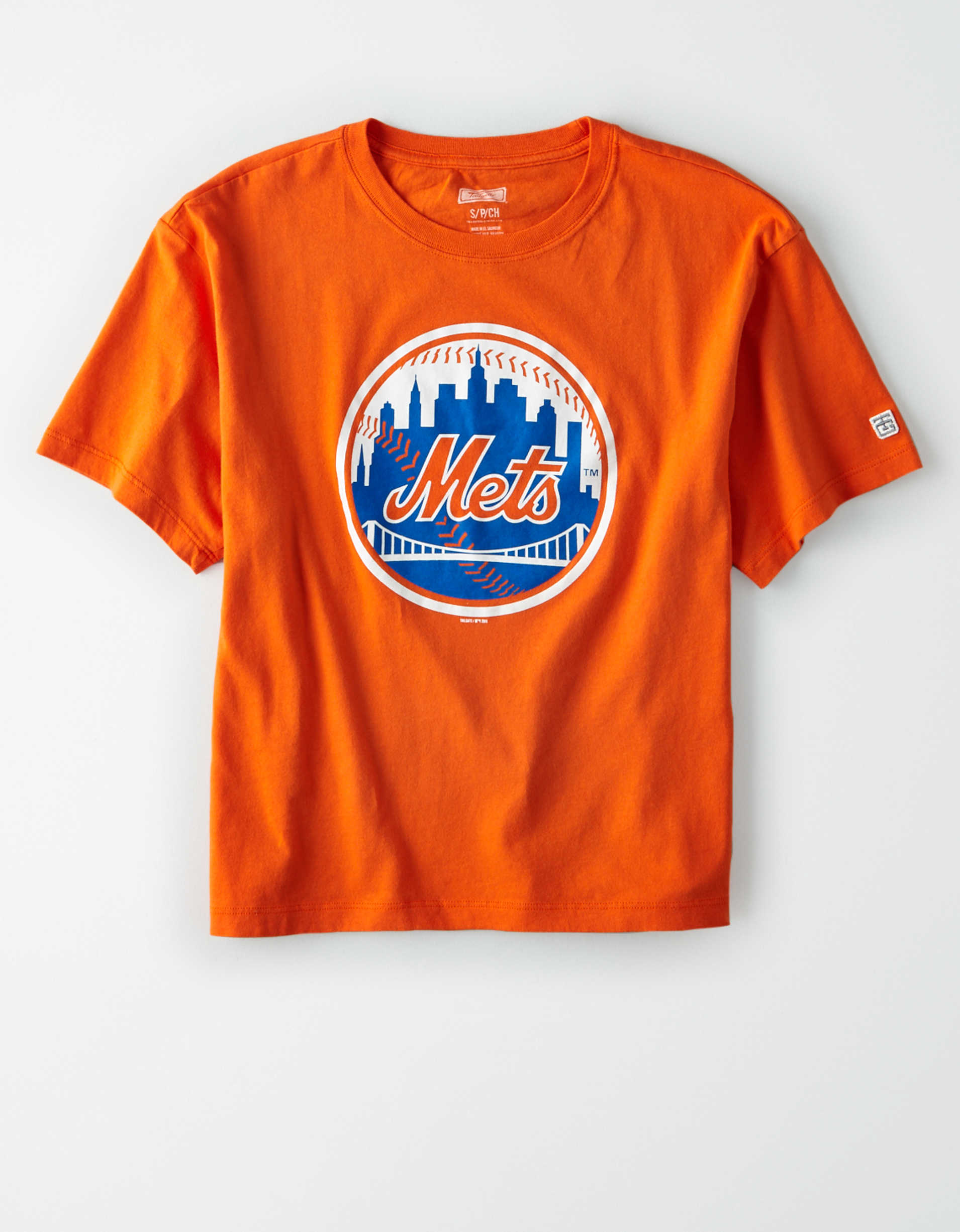Tailgate Women's NY Mets Cropped Graphic T-Shirt