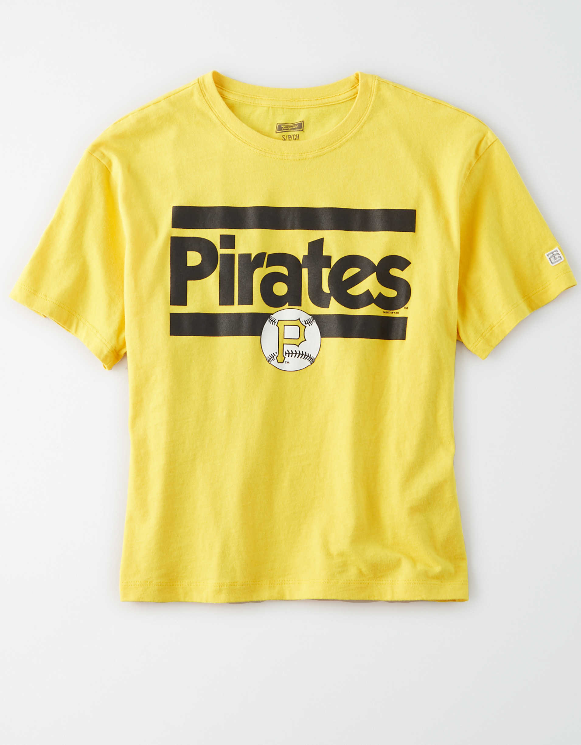 Tailgate Women's Pittsburgh Pirates Cropped Graphic T-Shirt