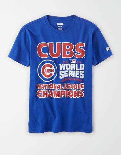 Tailgate Women's Chicago Cubs World Series T-Shirt