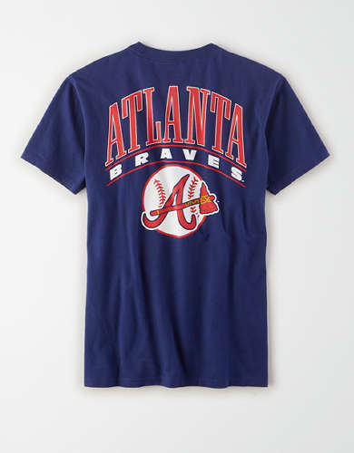 Tailgate Women's Atlanta Braves Graphic T-Shirt